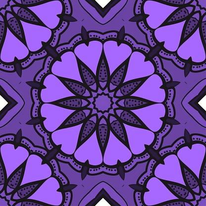 밝은 색상 완벽 한 아트 패턴입니다 판타지 장식입니다 벡터 일러스트 레이 션 가을에 대한 스톡 벡터 아트 및 기타 이미지