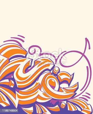 decorative illustration, vector artwork