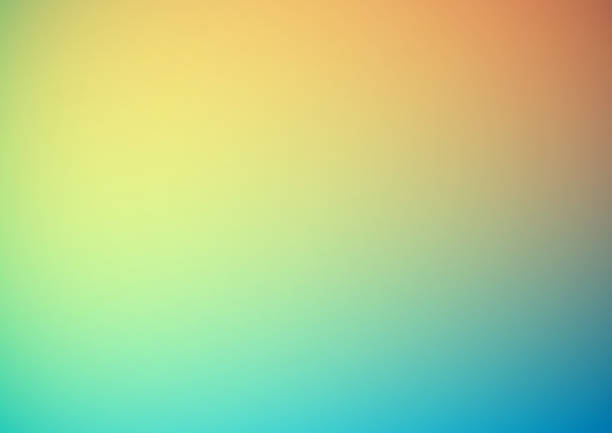 Bright colorful abstract blurry background vector art illustration