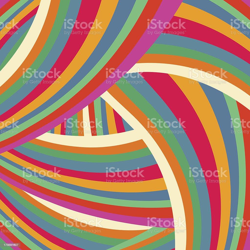 Bright colorful background like brush strokes vector art illustration