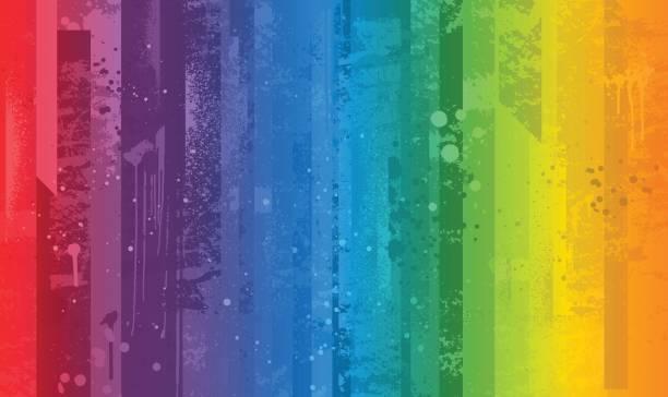 ilustrações, clipart, desenhos animados e ícones de fundo brilhante colorido arco-íris - lgbt