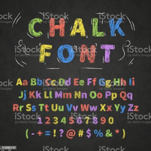 Bright colorful retro hand drawn alphabet letters drawing with chalk vector id876930792?b=1&k=6&m=876930792&s=612x612&h=xtdjtihbxnlh6fqhpiagmu6e38wkibv7xr vllbdj88=