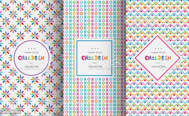 Bright colorful seamless patterns for baby style vector id543056140?b=1&k=6&m=543056140&s=612x612&h=qj2xsdzu9 z mtly3aqrlr3wosi3wh20jyjcvxrqike=