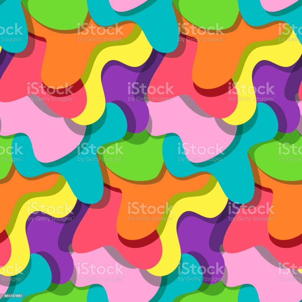 Bright colorful splashes pattern royalty-free bright colorful splashes pattern stock vector art & more images of abstract