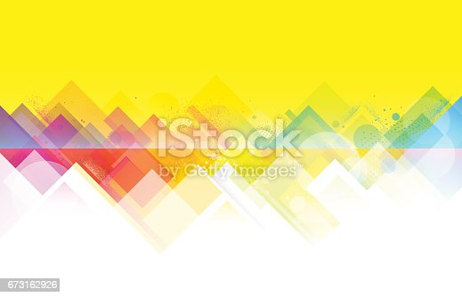 istock Bright colorful summer background 673162926