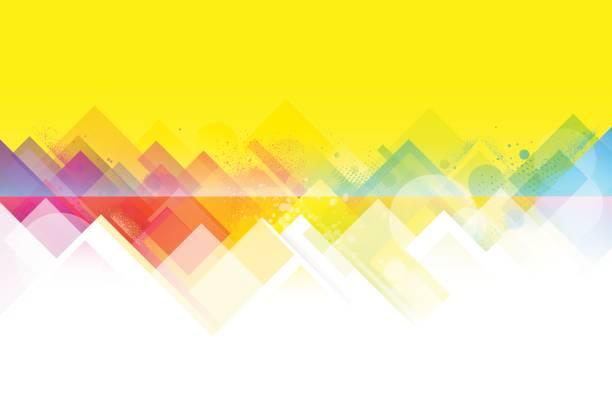 Bright colorful summer background vector art illustration