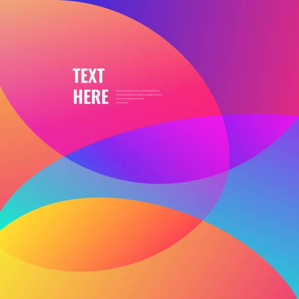 Helle Farben Hintergrund – Vektorgrafik