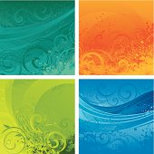 Bright colourful backgrounds