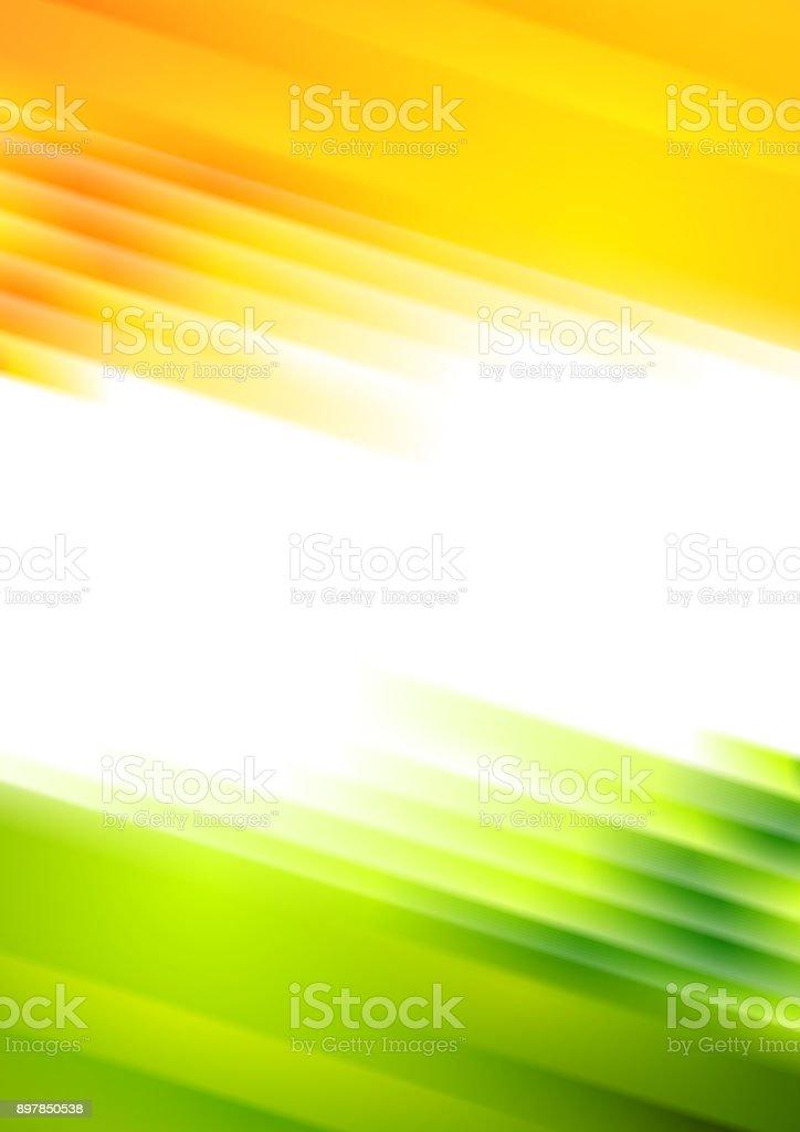 Bright conceptual summer striped background vector art illustration