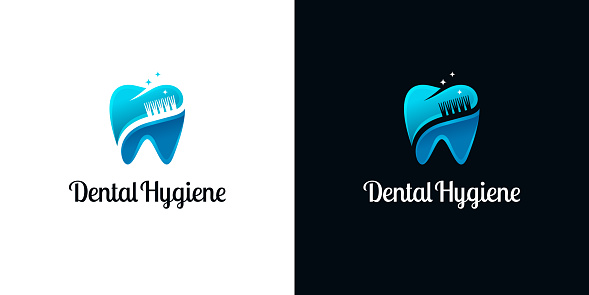 Bright Cut Logos with Toothbrushes for Dental