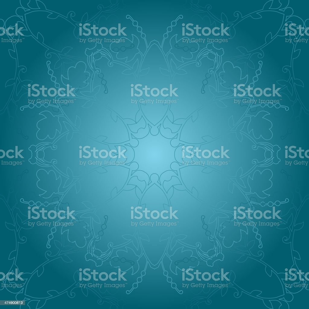 bright floral background. swirl and curve royalty-free stock vector art