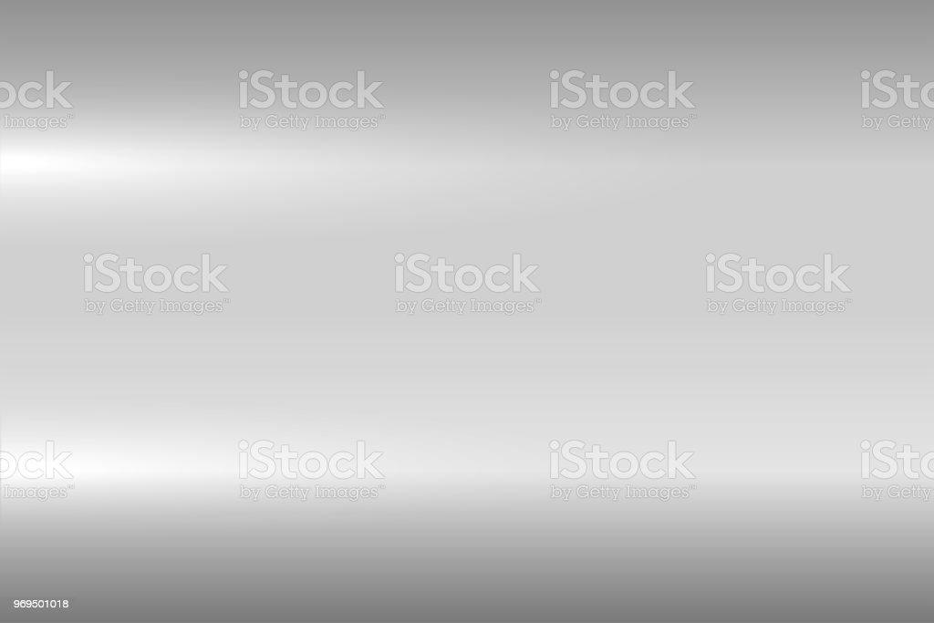 Textura metálica gris brillante. Superficie de metal pulida brillante. Fondo de vector - ilustración de arte vectorial