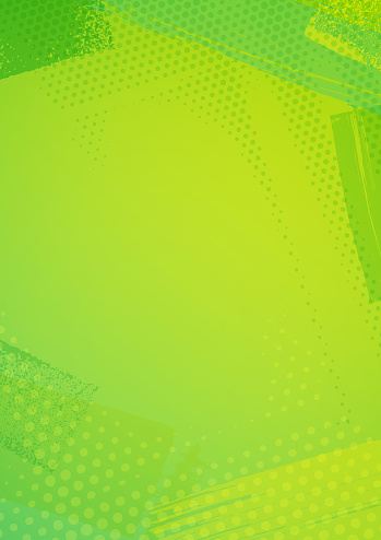 Modern lime green abstract grunge textured frame vector background illustration for use as background template for business documents, cards, flyers, banners, advertising, brochures, posters, digital presentations, slideshows, PowerPoint, websites