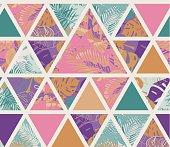 Bright hawaiian pattern