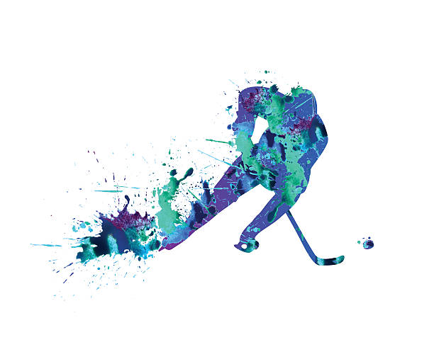 hockey-spieler - hockey stock-grafiken, -clipart, -cartoons und -symbole