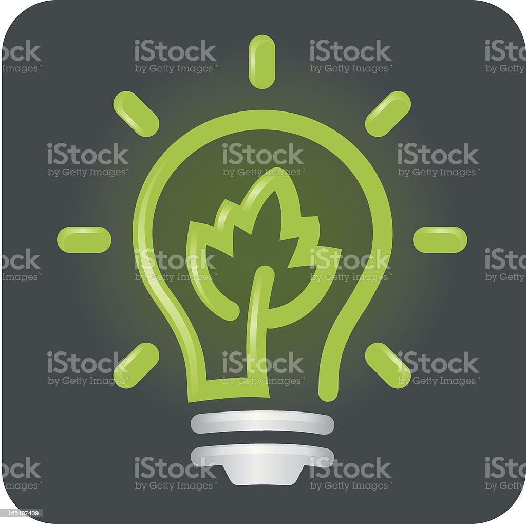 Bright Idea royalty-free stock vector art