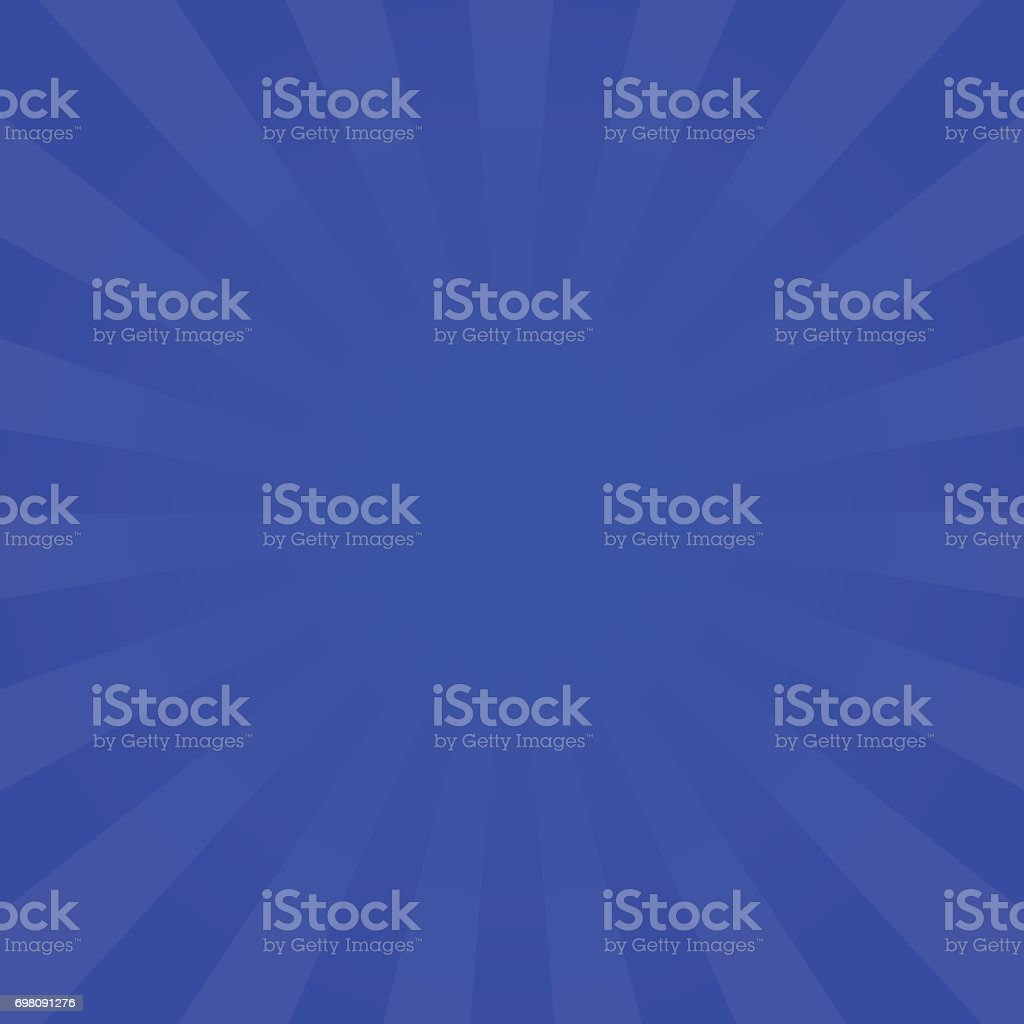 Bright indigo rays background vector art illustration