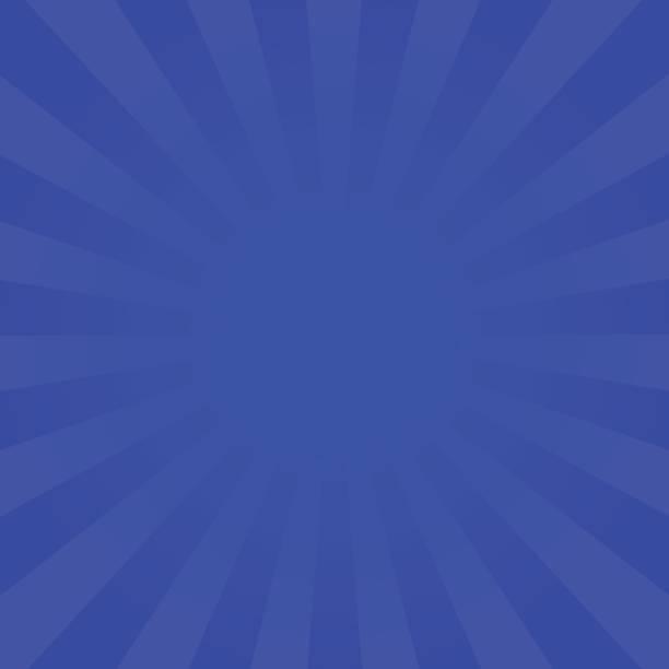 bright indigo rays background - dark blue stock illustrations