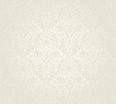 Bright luxury vintage floral seamless wallpaper  background