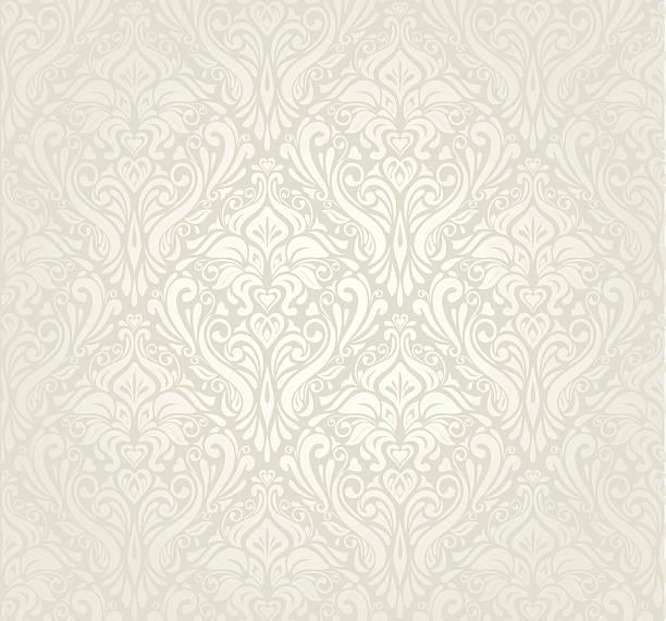 jasne luksusowy styl vintage tapety design - holiday background stock illustrations