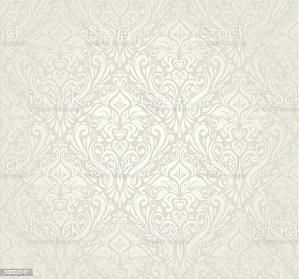 Jasne Luksusowy Styl Vintage Tapety Design - Stockowe grafiki wektorowe i więcej obrazów 2015