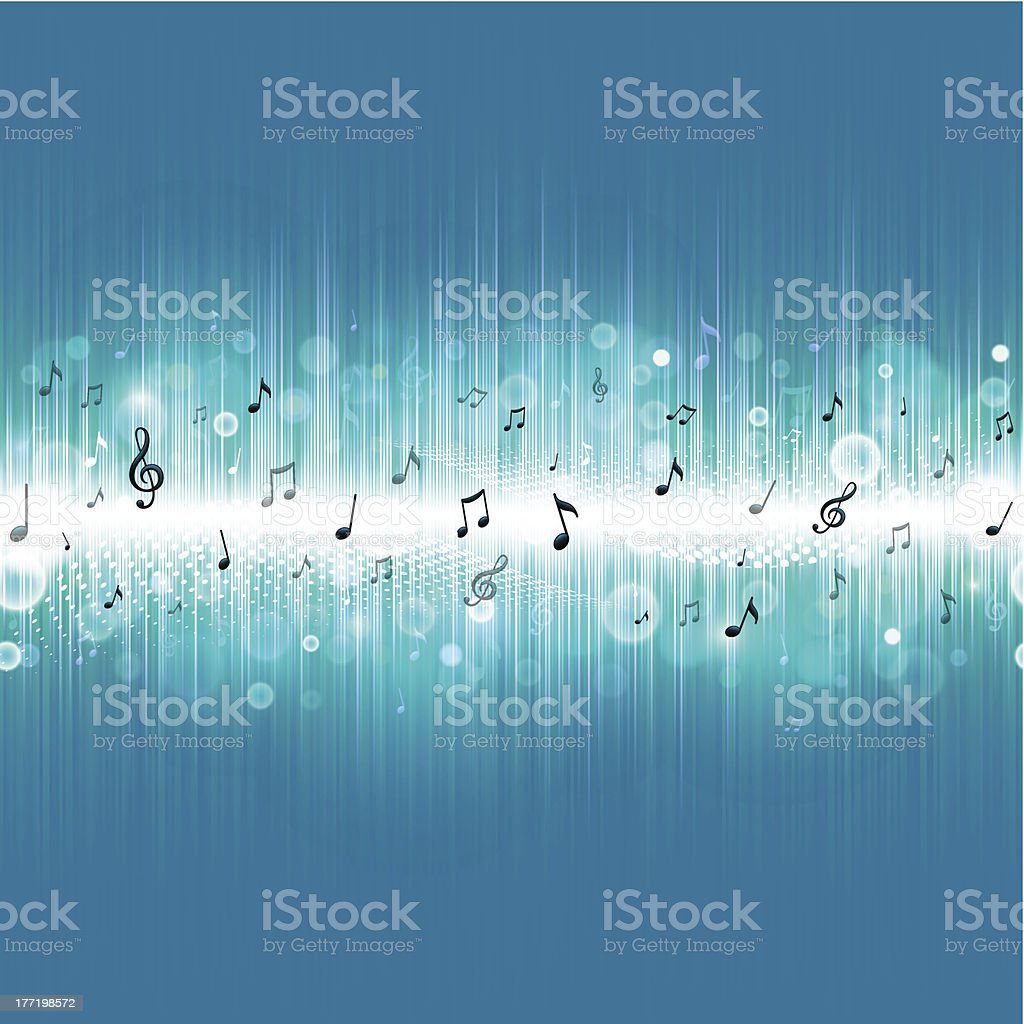 Bright music background royalty-free stock vector art