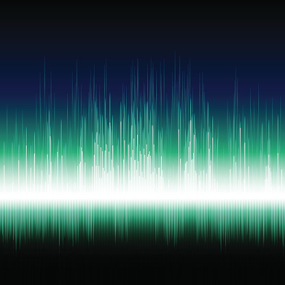 Bright music graphic equalizer