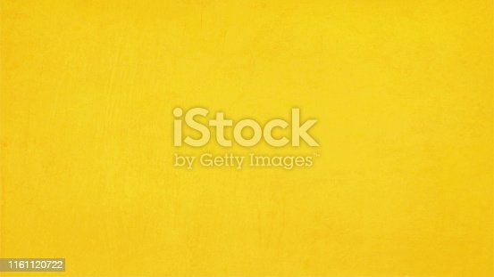 Bright mustard yellow color background- Vector illustration. Textured. Copy space