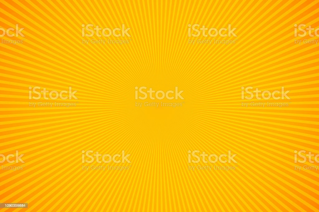 Bright orange and yellow rays vector background royalty-free bright orange and yellow rays vector background stock illustration - download image now