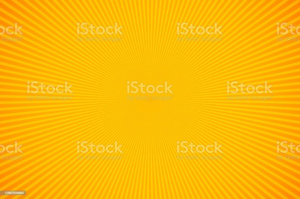 Rayos naranjas y amarillos brillantes vector fondo ilustración de rayos naranjas y amarillos brillantes vector fondo y más vectores libres de derechos de abstracto libre de derechos