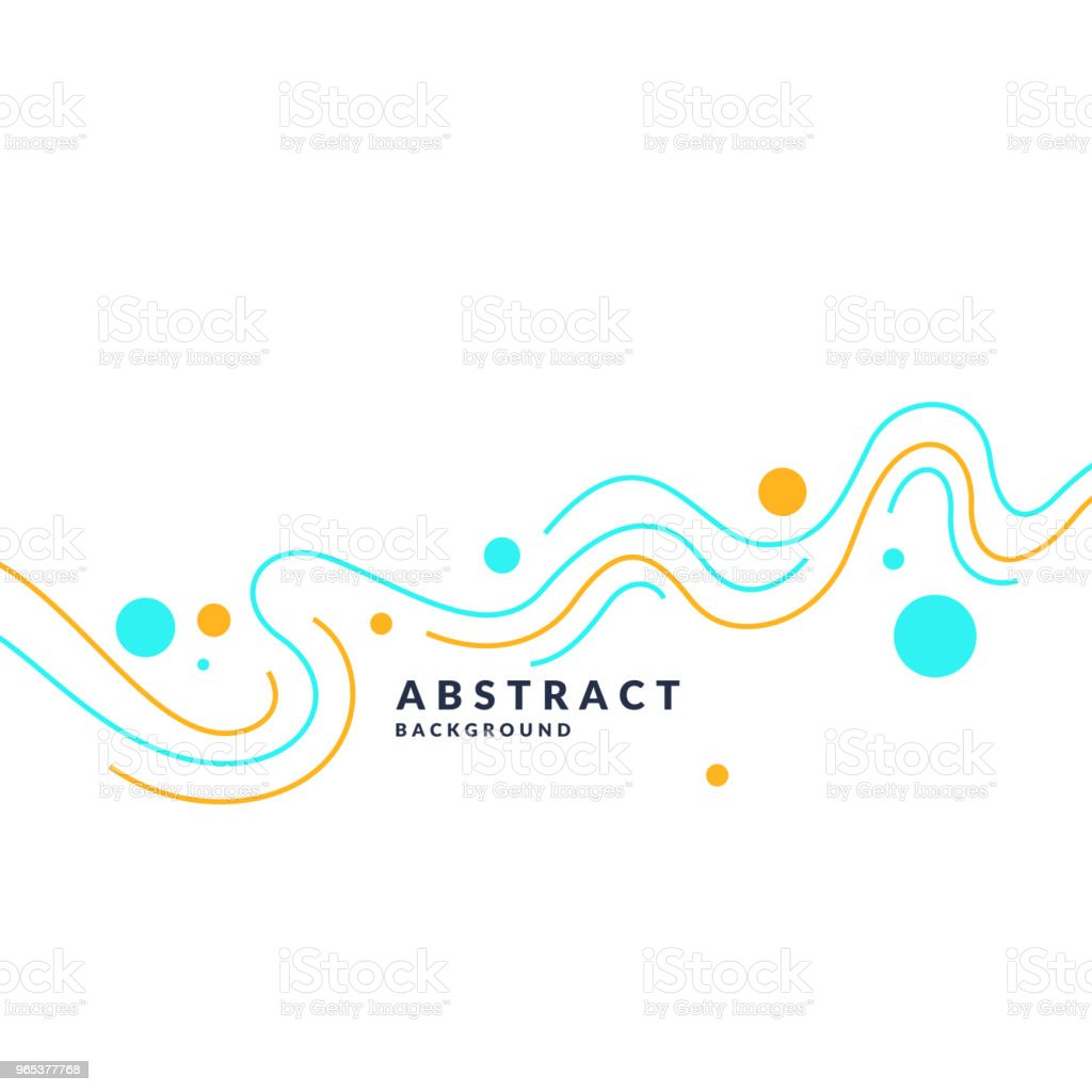 Bright poster with dynamic waves. Illustration minimal flat style royalty-free bright poster with dynamic waves illustration minimal flat style stock vector art & more images of abstract