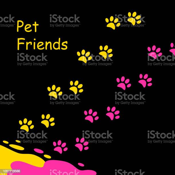 Bright puddle of yellow paint and red and colored footprints kittens vector id1097718566?b=1&k=6&m=1097718566&s=612x612&h=acqhivjcr6um36zt13o8kp1wy9v6wgoyubnuqld 3ym=