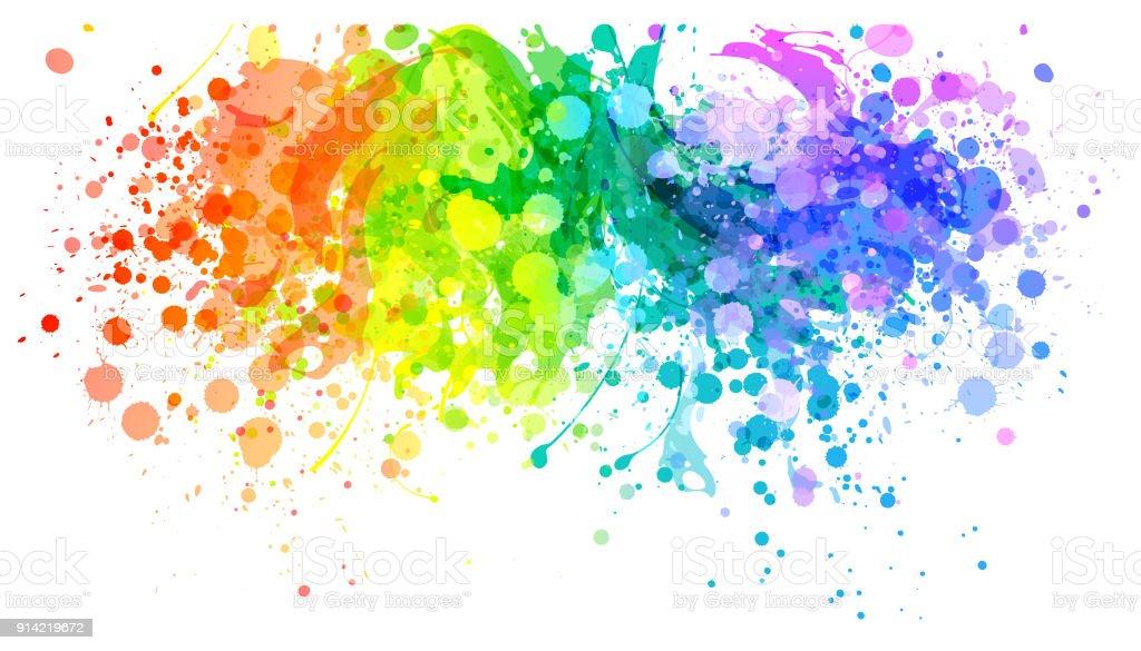 Paint splash vector free t for Pintura verde agua