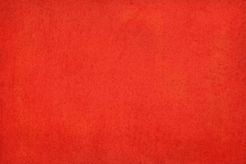 Bright red colored wall texture grunge vector background- horizontal