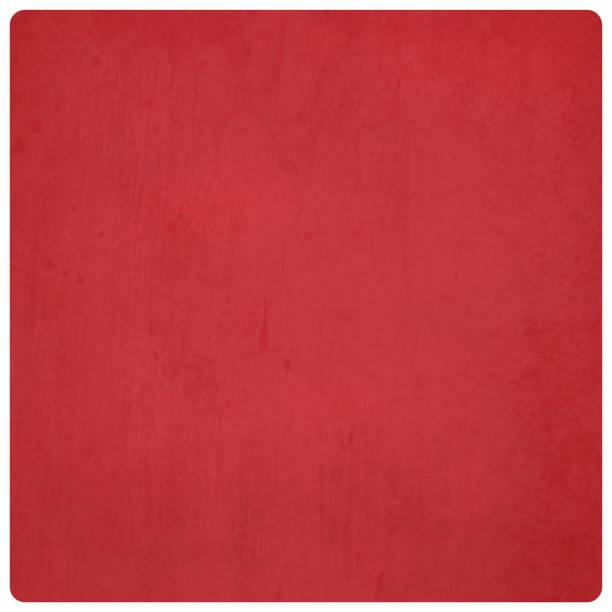 leuchtend rot gefärbt, wand textur grunge vektor hintergrund ideal für xmas - illustration mit abgerundeten ecken - plüschmuster stock-grafiken, -clipart, -cartoons und -symbole