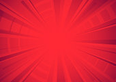 istock Bright red comic star burst background 1283437044