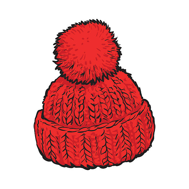 Best Winter Hat Illustrations, Royalty-Free Vector ...