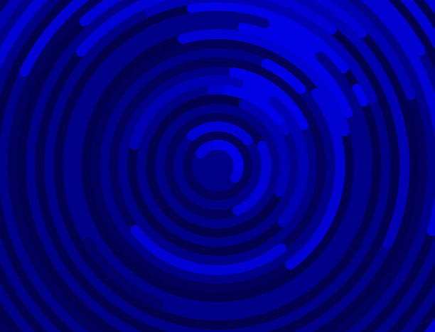 bright ripples blue ripples on water top view rippled stock illustrations