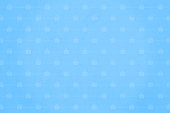 istock Bright sky blue colored grunge Christmas Background with small gift boxes all over as watermark 1189283123