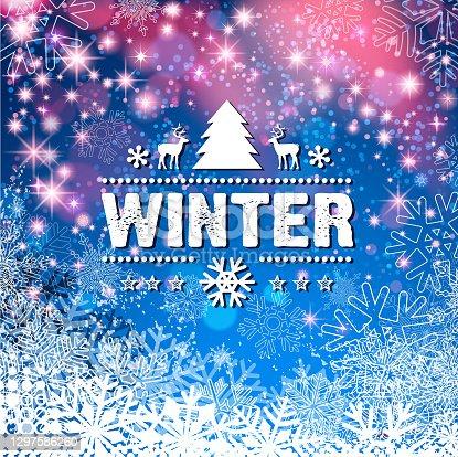 istock bright snowy sign 1297586260