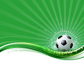 drawn of vector blank soccer ball field. This file has been used illustrator cs3 EPS10 version feature of multiply.