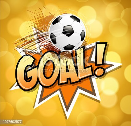 istock bright soccer ball goal 1297602577