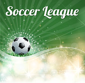 drawn of vector soccer stadium sign. This file of transparent. Created by illustrator CS6.