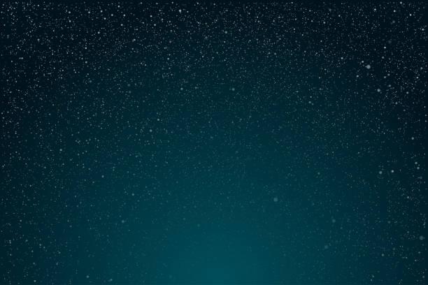 illustrations, cliparts, dessins animés et icônes de étoile lumineuse dans le ciel foncé bleu de nuit. fond, illustration de vecteur de bannière. - ciel etoile