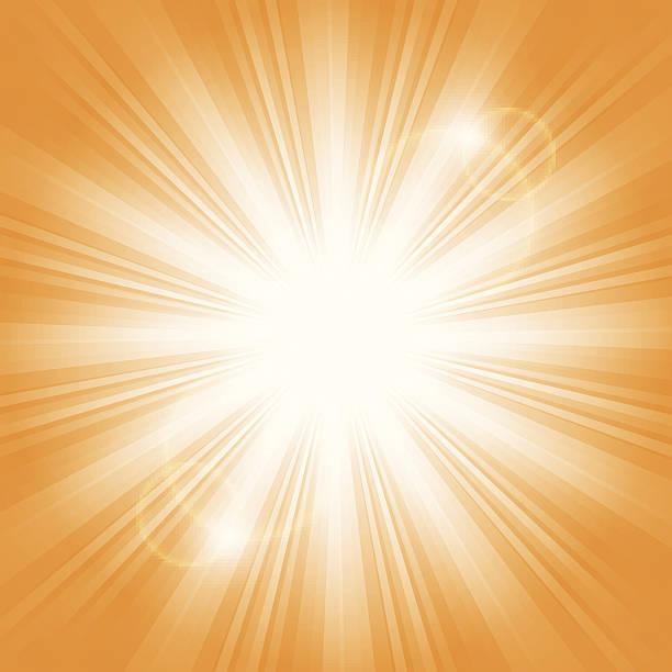 illustrazioni stock, clip art, cartoni animati e icone di tendenza di luce del sole - flare