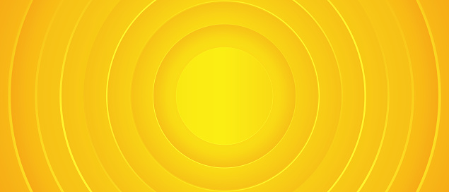 Bright sunny yellow dynamic abstract background. Modern lemon orange color.