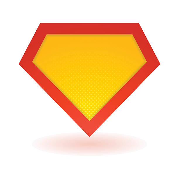 bright superhero symbol - superhelden stock-grafiken, -clipart, -cartoons und -symbole