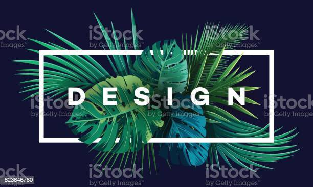 Bright tropical background with jungle plants exotic pattern with vector id823646760?b=1&k=6&m=823646760&s=612x612&h=04egzu07xgfd91houufb1742fhxmdhwtnr52qqn3 v4=