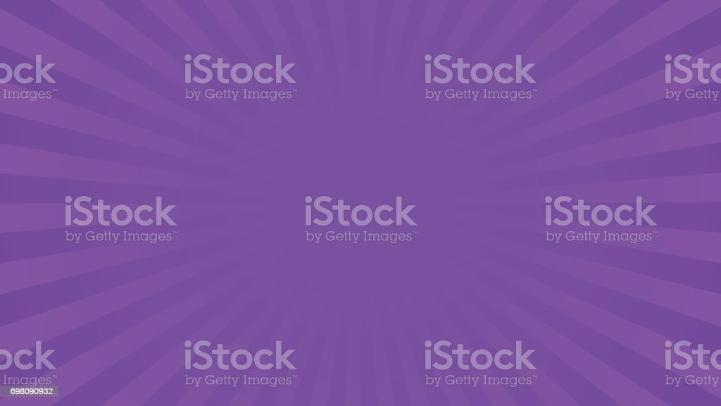 Bright violet rays background vector art illustration