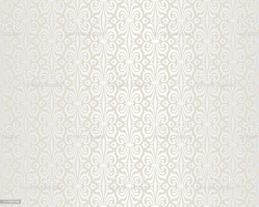 Brillante fondo de papel tapiz vintage boda color beige - Papel vintage pared ...
